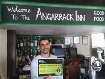 Well done to Angelo, chef at the Angarrack Inn #Hayle who has secured a 5 food hygiene rating after the latest inspection.  Angelo was presented the Food Hygiene Rating Scheme certificate by our officer Brian.  Best wishes from Brian and all the food team